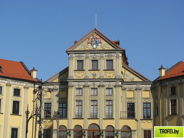 Центральный двор Несвижского замка