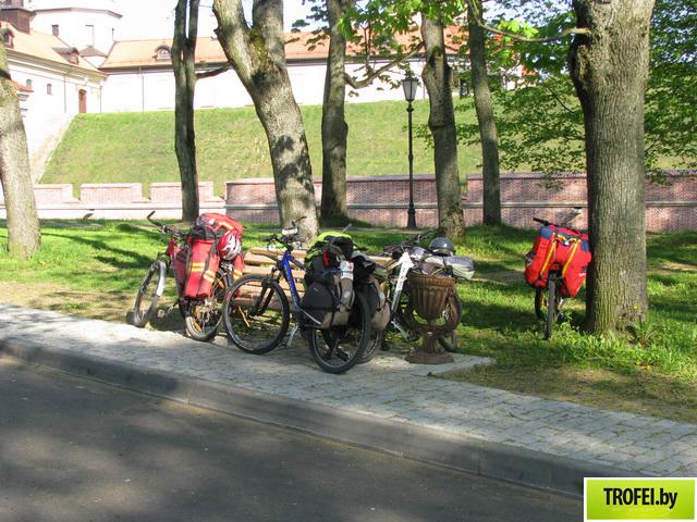 Минские туристы на велосипедах